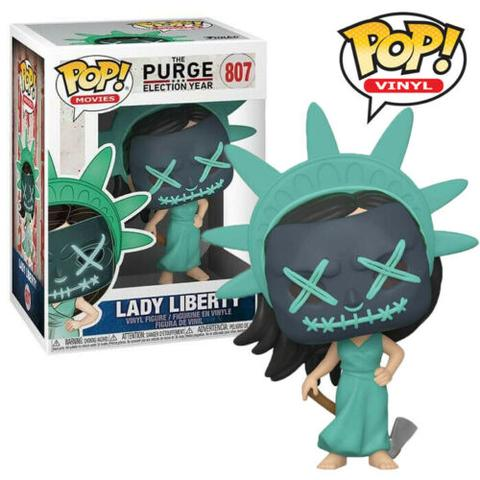 POP! MOVIES- THE PURGE: ELECTION YEAR - LADY LIBERTY #807 - Vinyl Figure