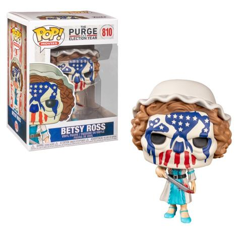 POP! MOVIES - THE PURGE: ELECTION YEAR - BETSY ROSS #810 - Vinyl Figure