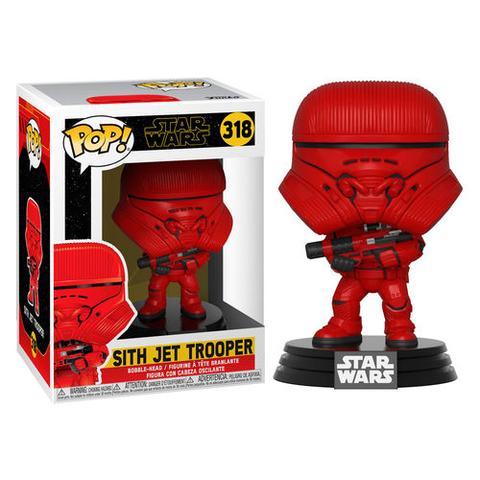 POP! - STAR WARS - SITH JET TROOPER #318 - Vinyl Figure