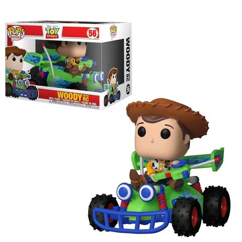 POP! RIDES: WOODY WITH RC #56 - Vinyl Figure