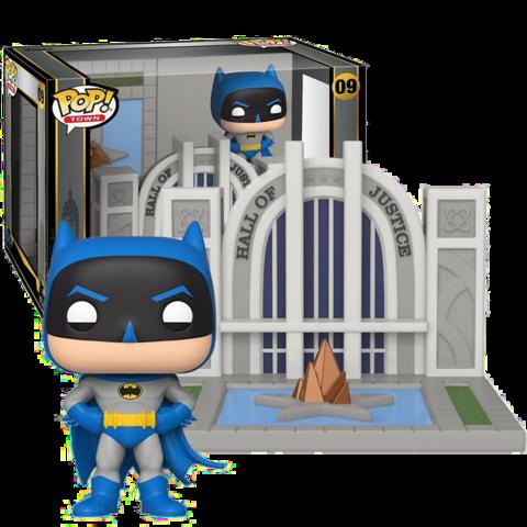 POP! TOWN- BATMAN- HALL OF JUSTICE WITH BATMAN #09 - Vinyl Figure