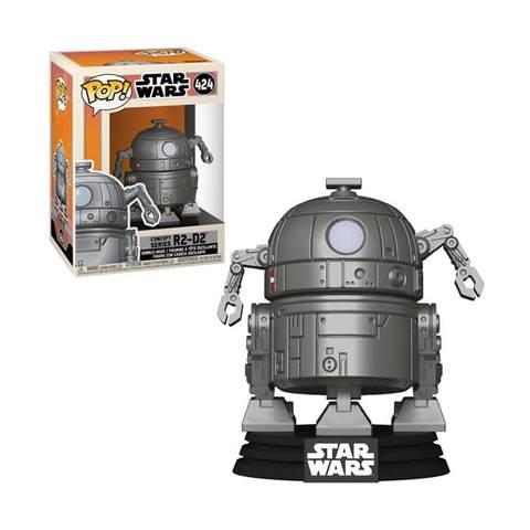POP! STAR WARS - CONCEPT SERIES R2-D2 #424 - Figure