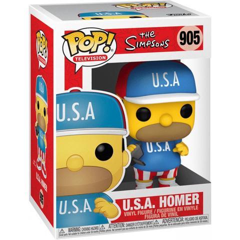 POP! THE SIMPSONS - U.S.A HOMER #905 - Vinyl Figure
