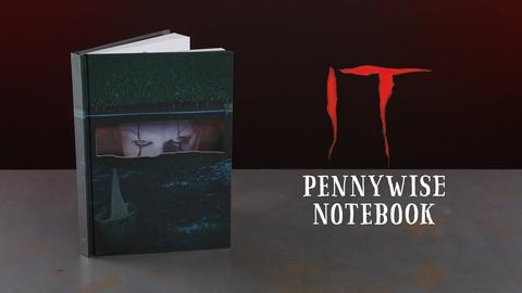 IT PENNYWISE - NOTEBOOK