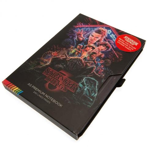 STRANGER THINGS (VHS S3) - A5 PREMIUM NOTEBOOK