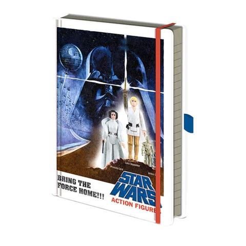 STAR WARS (ACTION FIGURES) - A5 PREMIUM NOTEBOOK