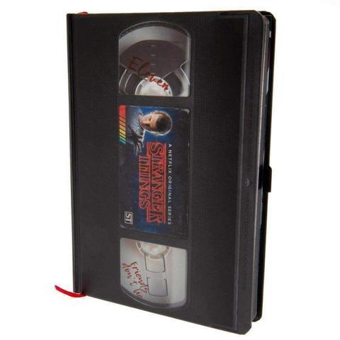 STRANGER THINGS (VHS SEASON ONE) - A5 PREMIUM NOTEBOOK