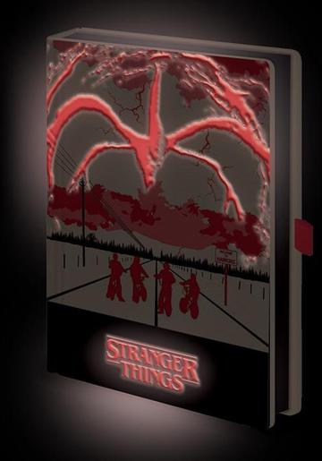 STRANGER THINGS (MIND FLAYER) - LIGHT UP NOTEBOOK