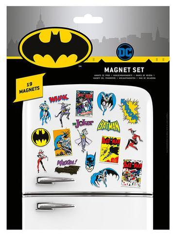 DC COMICS (BATMAN RETRO) MAGNET SET
