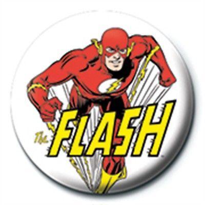 DC COMICS - THE FLASH- CHARACTER - PINBADGE