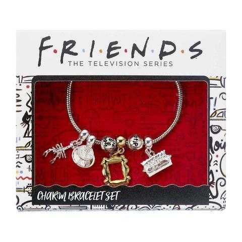 FRIENDS - CHARM BRACELET FOUR CHARMS