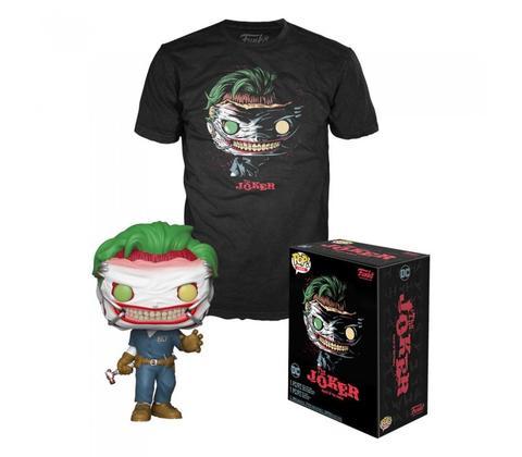 DC COMICS POP! & TEE BOX DEATH OF JOKER SIZE L