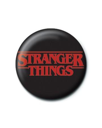 STRANGER THINGS (LOGO) - PINBADGE