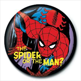 MARVEL COMICS (SPIDER OR MAN) - PINBADGE