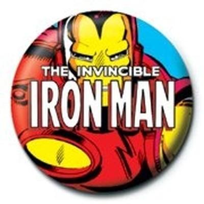 MARVEL - IRON MAN (ZOOM) - PINBADGE