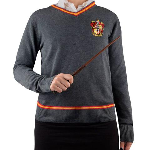 HARRY POTTER KNITTED SWEATER GRYFFINDOR - SIZE MEDIUM
