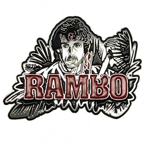 RAMBO - LIMITED EDITION - LARGE PIN BADGE