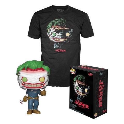 DC COMICS POP! & TEE BOX DEATH OF JOKER - SIZE M