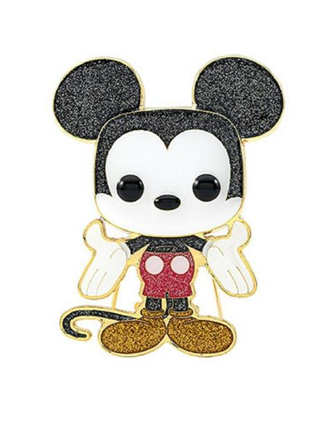 FUNKO POP! DISNEY - MICKEY MOUSE #01 LARGE CHASE ENAMEL PIN
