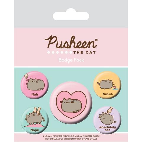 PUSHEEN (NAH) - BADGE PACK