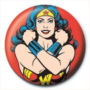 DC COMICS - WONDER WOMAN - POSE - PINBADGE