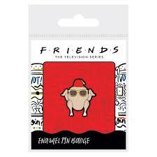 FRIENDS (COOL TURKEY) - ENAMEL PIN BADGE