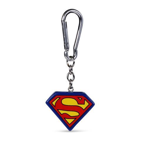 SUPERMAN (LOGO) - 3D KEYCHAIN