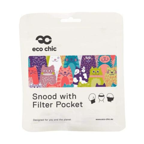 ECO CHIC - REUSABLE SNOOD - CATS