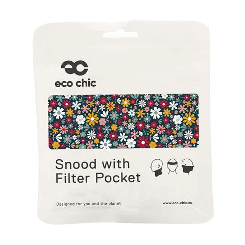 ECO CHIC - REUSABLE SNOOD - FLOWERS