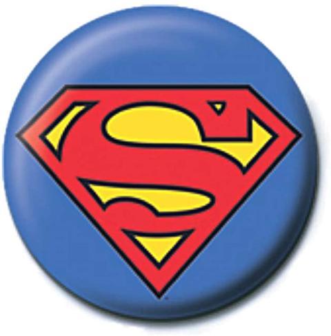 SUPERMAN - LOGO PINBADGE