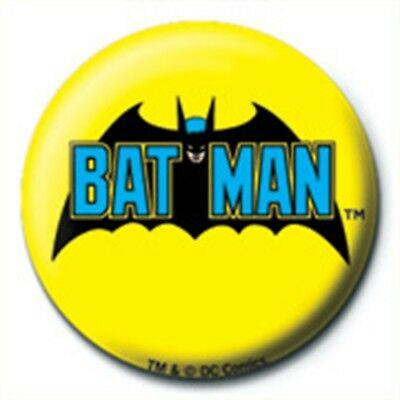 DC COMICS - BATMAN RETRO LOGO - PINBADGE