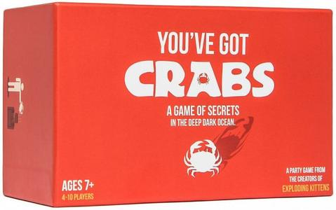 YOU'VE GOT CRABS - CARD GAME