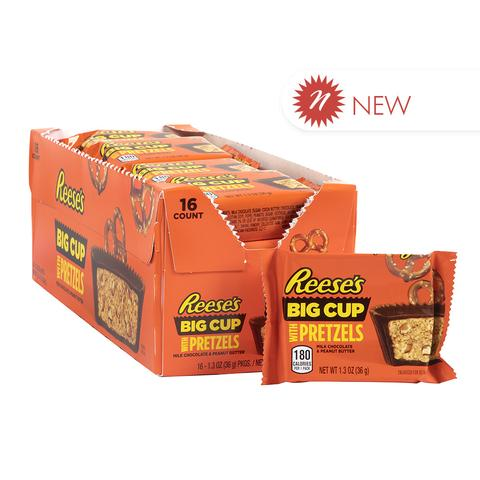 REESE'S BIG CUP STUFFED WITH PRETZELS 36G