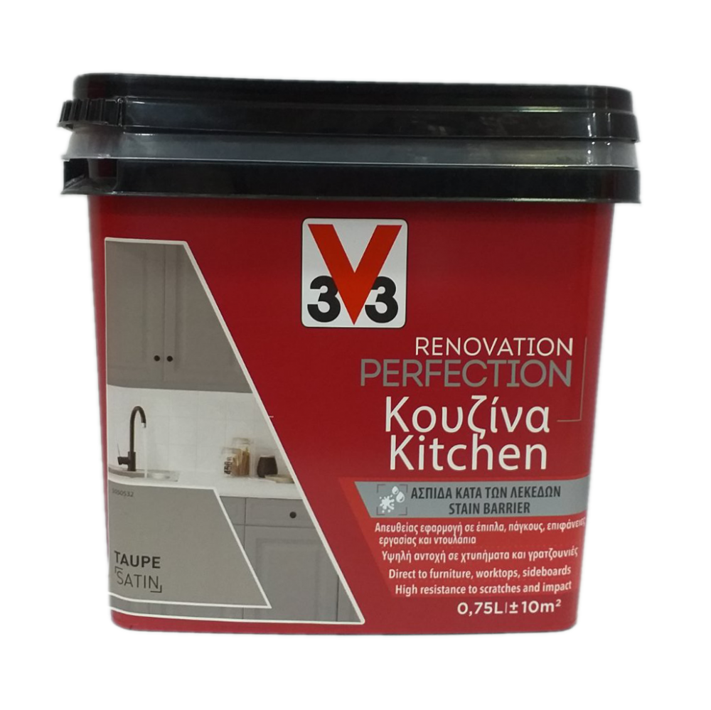 RENOVATION PERFECTION KITCHEN PAINT TAUPE 750ML V33