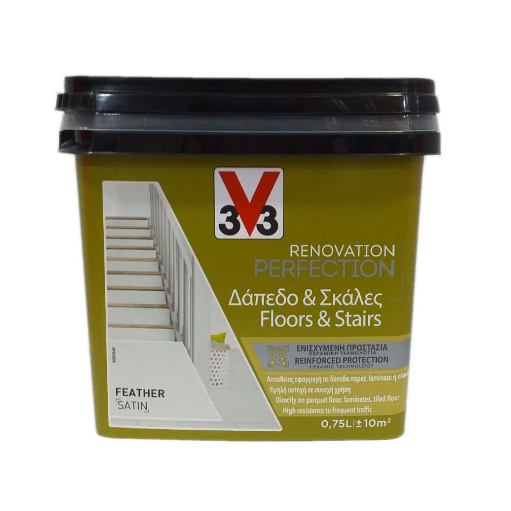 FLOORS & STAIRS RENOVATION PAINT FEATHER 750ML V33