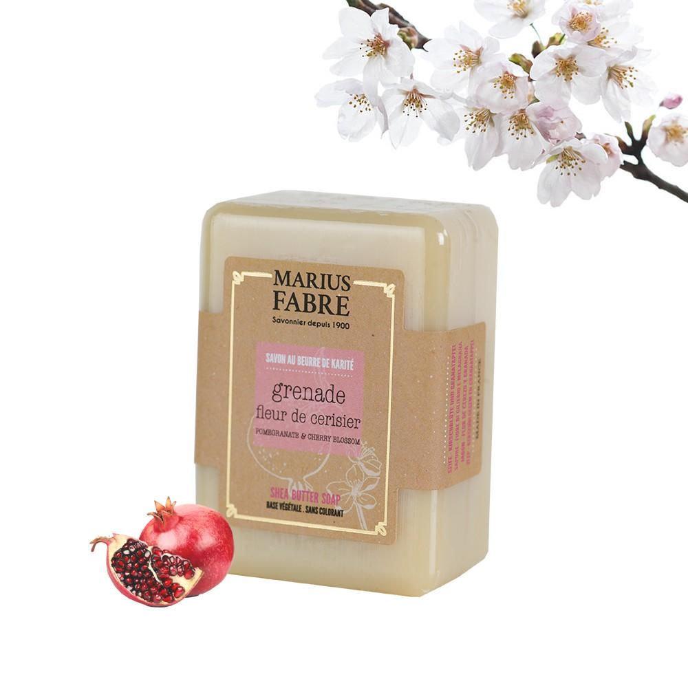 Marius Fabre Pomegranate & Cherry blossom soap 150g