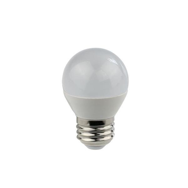 147-80233 LED BALL LAMP SMD G45 5W E27 220-240V 300° 2700K 400LM (2700K)