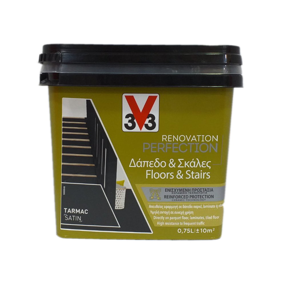 FLOORS & STAIRS RENOVATION PAINT V33 TARMAC 750ML