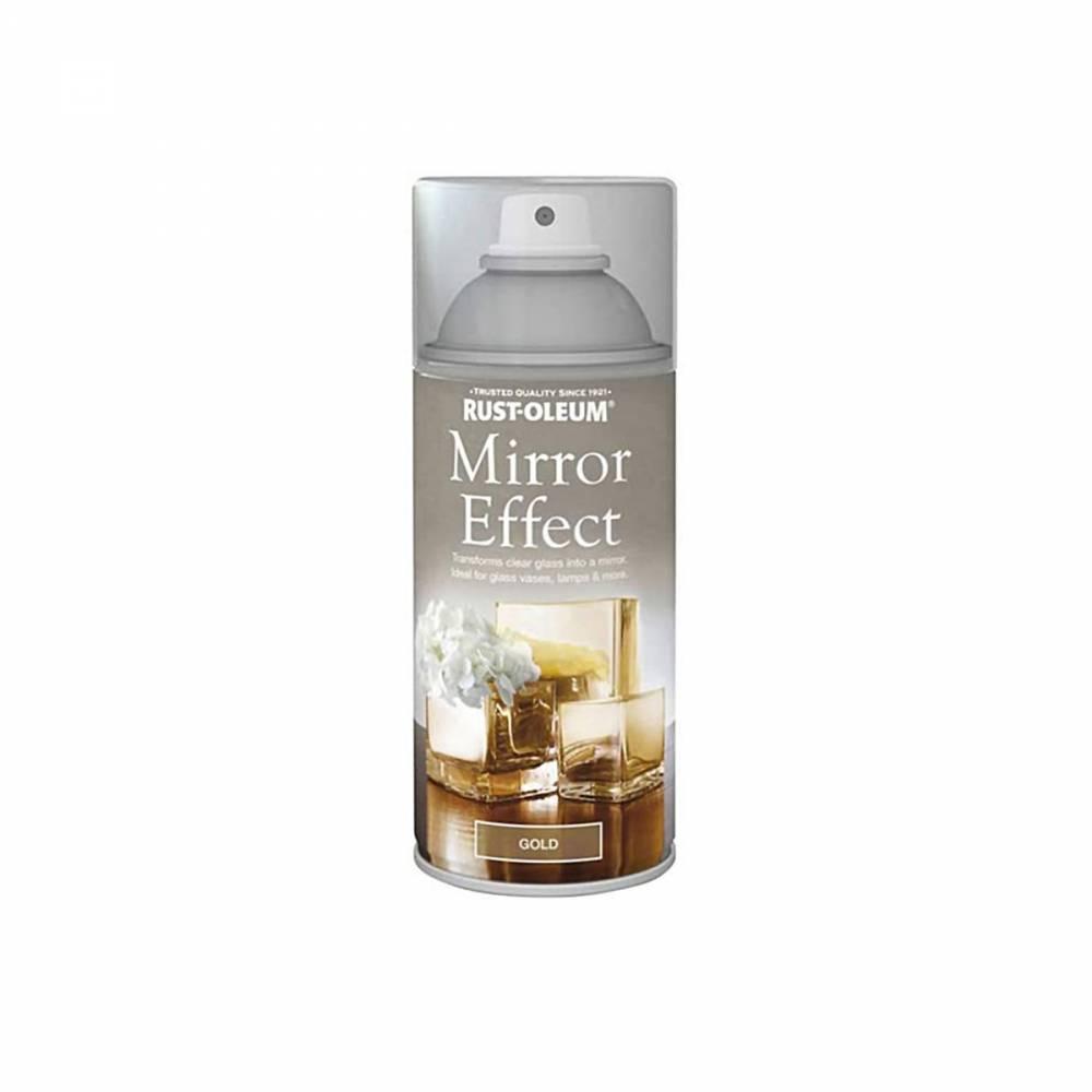 MIRROR EFFECT GOLD 150ML SPRAY RUSTOLEUM