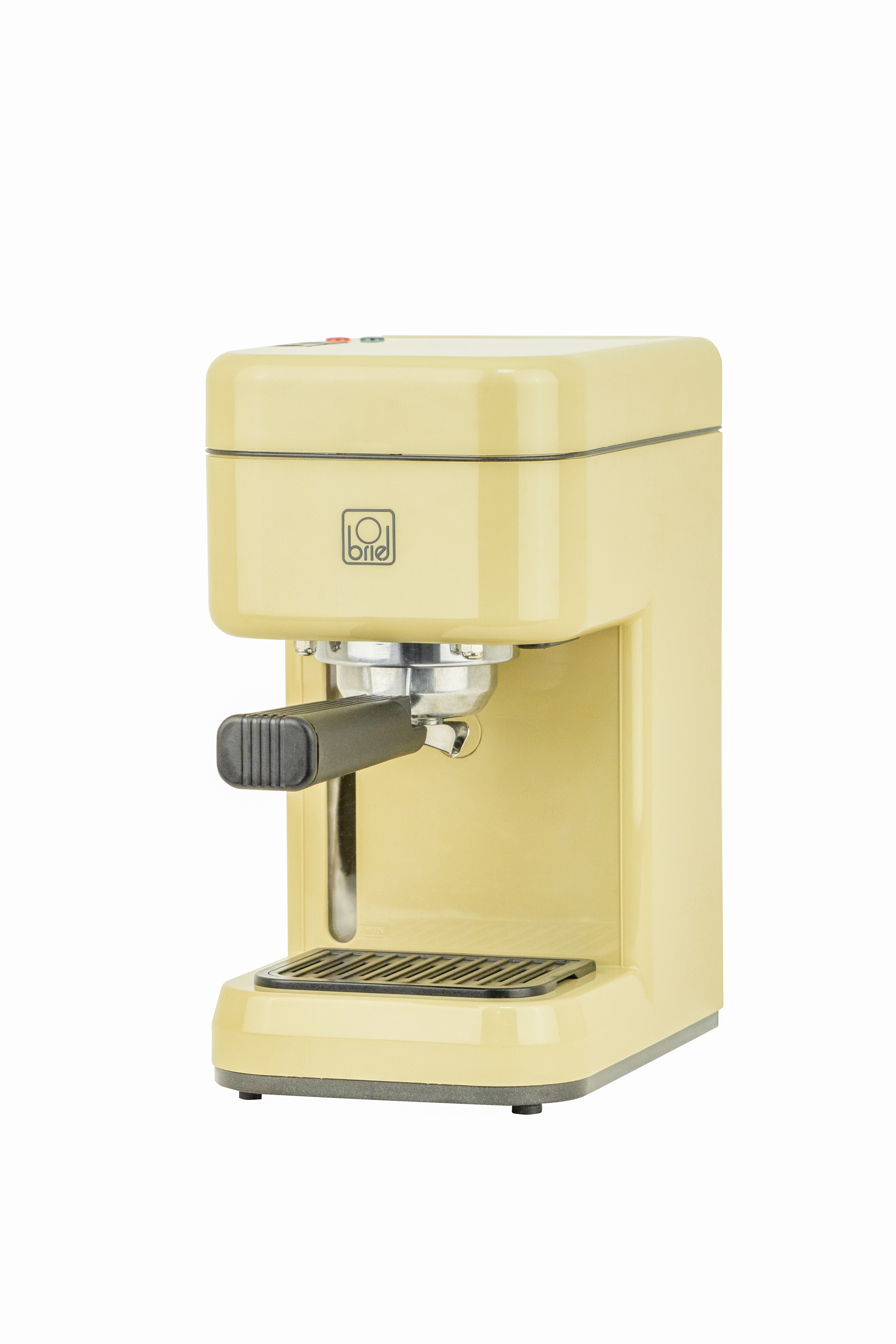 BRIEL B14 MANUAL ESPRESSO MACHINE - YELLOW