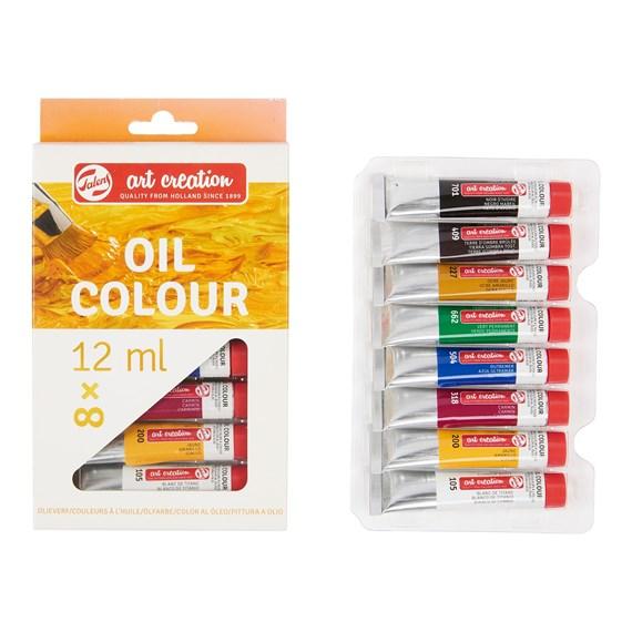 Oil Colour Set 8 X 12 ml