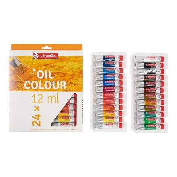 Oil Colour Set 24 x 12 ml