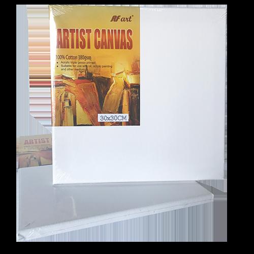 Artist Canvas 100% cotton, 380gms, 30cm x 30cm