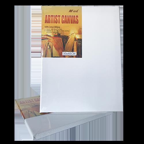 Artist Canvas 100% cotton, 380gms, 30cm x 60cm