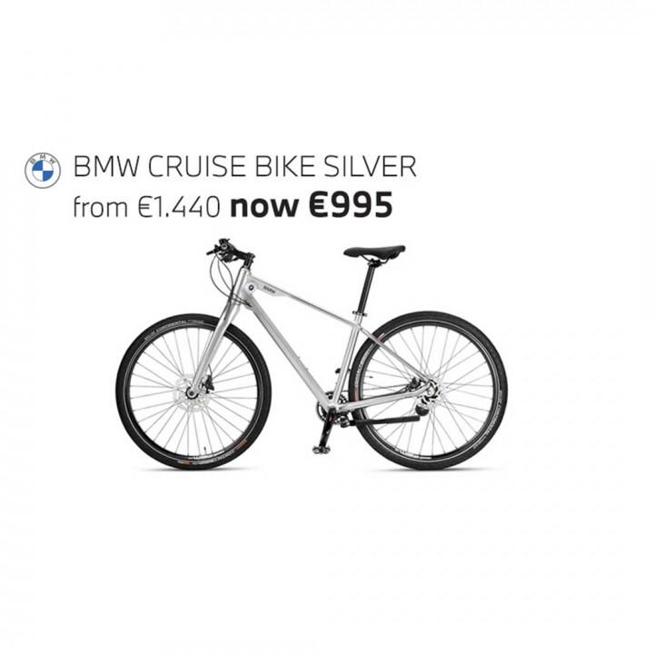 BMW CRUISE BIKE - Silver