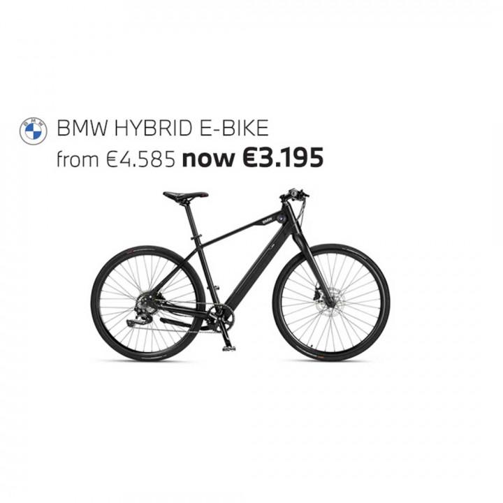 BMW HYBRID E-BIKE - Silver