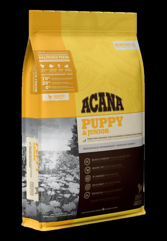 ACANA Heritage Puppy & Junior 11.4kg