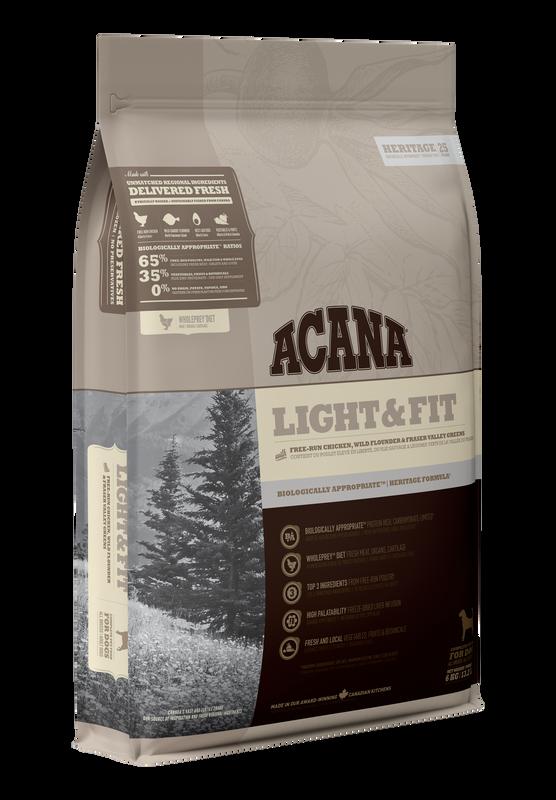 ACANA Heritage Light & Fit (Adult) 11.4kg