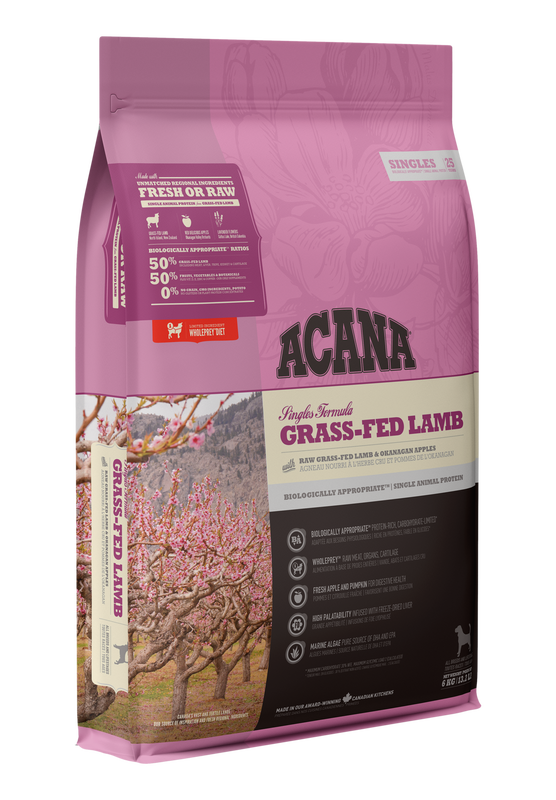 ACANA Singles Grass Fed Lamb (All Stages) 11.4kg
