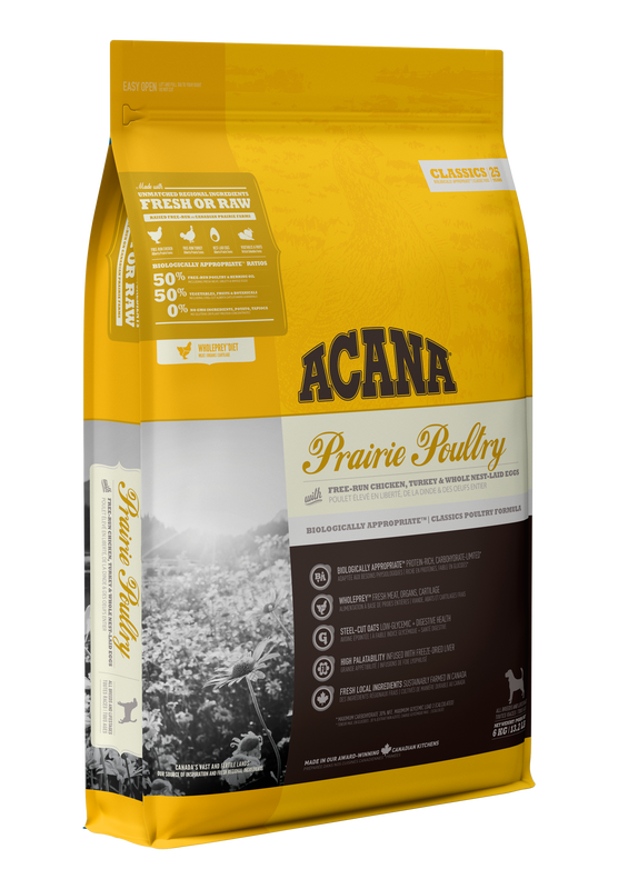 ACANA Classics Prairie Poultry (All Stages) 11.4kg
